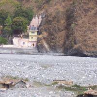 Goofa Side aggrappata al Kailash indiano e il Gautama Ganga