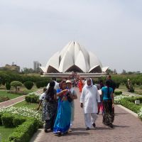 Bahai Temple  New Delhi viaggio in India del 2009