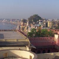 Varanasi vista dall'alto