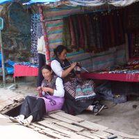 I sorrisi  delle bellisssime donne tibetane